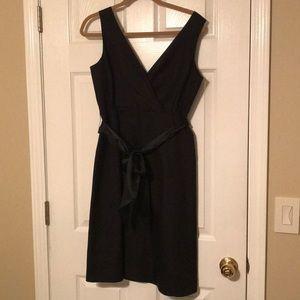 J Crew black sleeveless dress